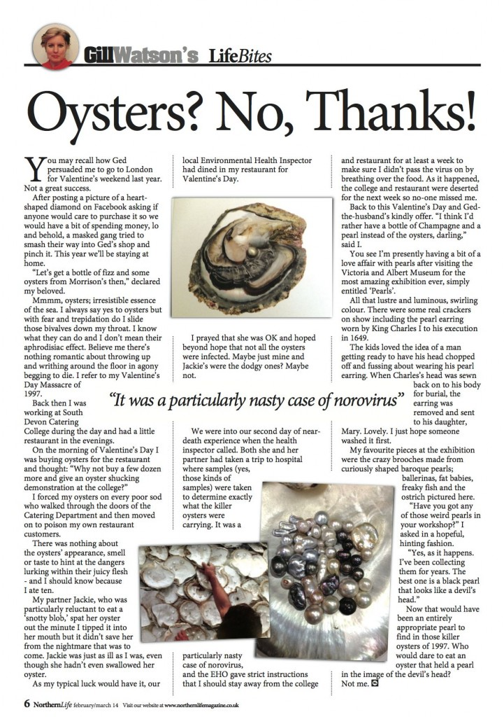 Gill Watson 12 - Oysters Sml