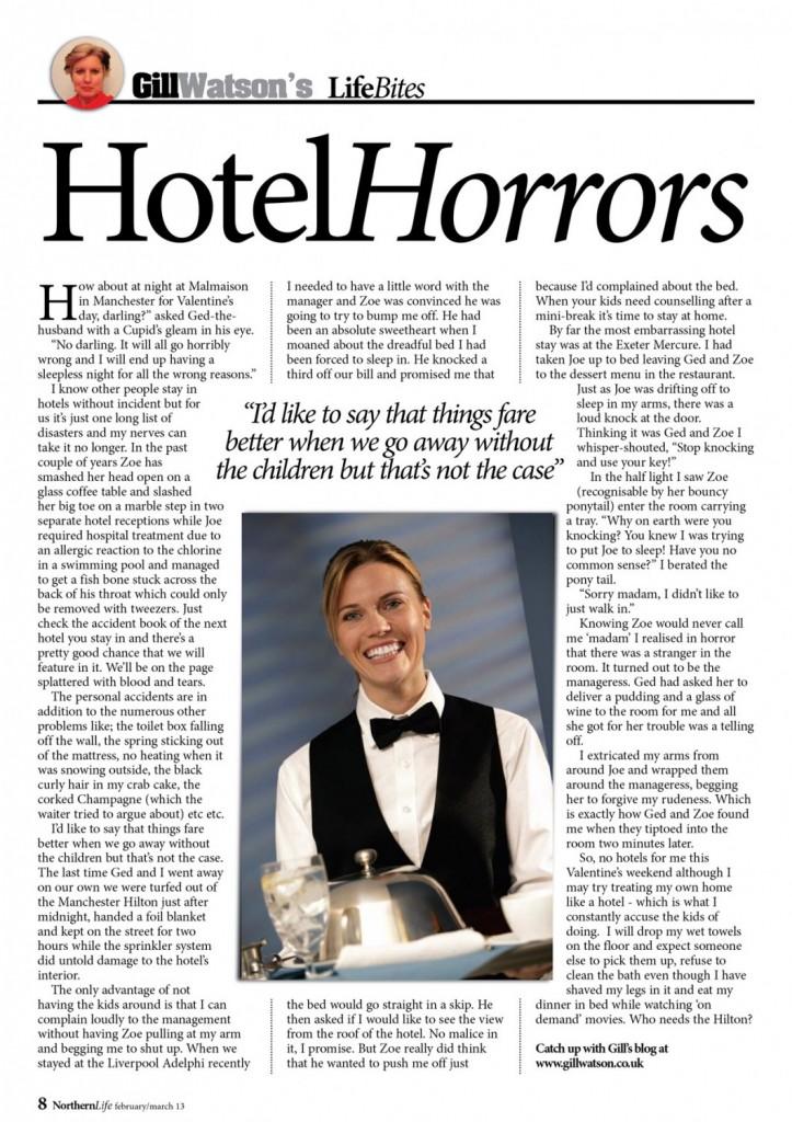 Gill Watson 6 - Hotels 2