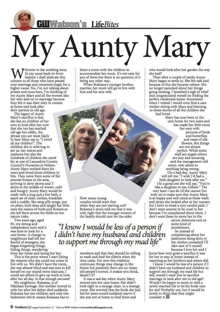 Gill Watson 9 - Aunty Mary Sml